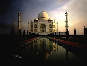 Taj Mahal by Anand PKC