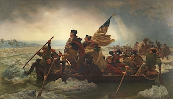 Washington Crossing the Delaware by Emanuel Gottlieb Leutze