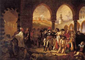 Bonaparte Visiting the Pesthouse in Jaffa, March 11, 1799 by Antoine-Jean Gros
