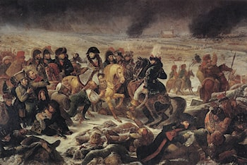 Napoleon on the Battlefield of Eylau by Antoine-Jean Gros