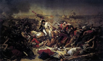 The Battle of Abukir by Antoine-Jean Gros