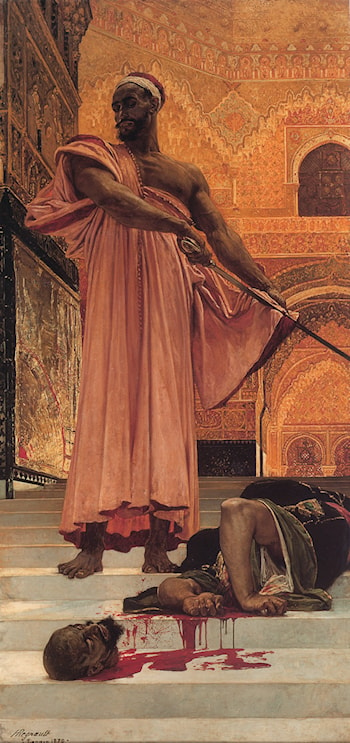 Summary Judgment under the Moorish Kings of Granada by Henri Alexandre Georges Regnault