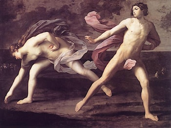 Atalanta and Hippomenes by Guido Reni