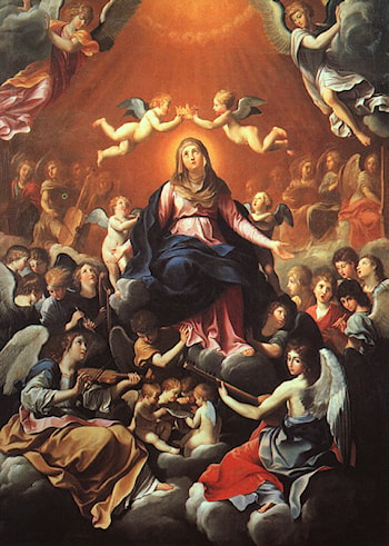 The Coronation of the Virgin by Guido Reni