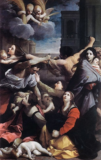 Massacre of the Innocents by Guido Reni