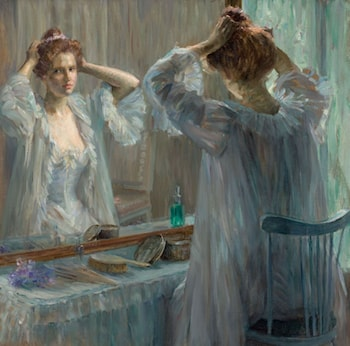 La Toilette by Louise Breslau