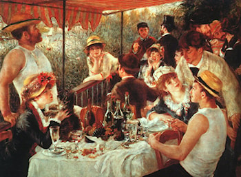 The Boating Party Lunch by Pierre Auguste Renoir