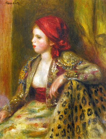 Odalisque by Pierre Auguste Renoir