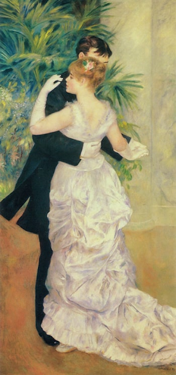 Dance in the City by Pierre Auguste Renoir
