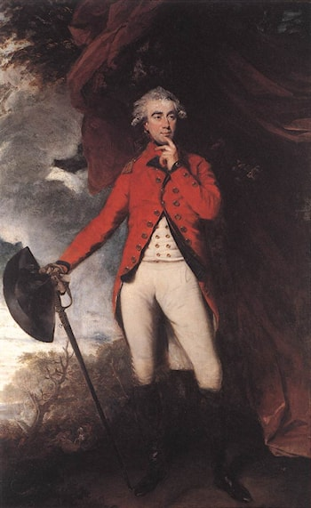 Francis Rawdon Hastings by Joshua Reynolds