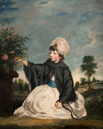 Lady Caroline Howard by Joshua Reynolds
