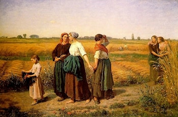 The Reapers by Jules-Adolphe Breton