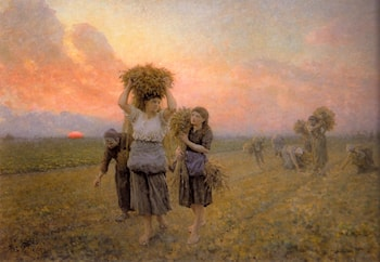 The Last Gleanings by Jules-Adolphe Breton