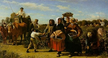 The Vintage at Chateau Lagrange by Jules-Adolphe Breton