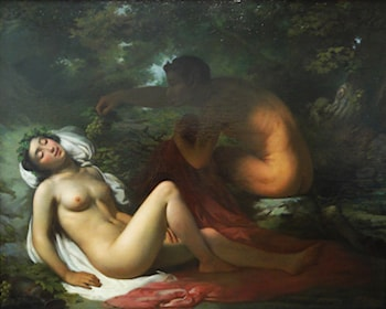 The Bacchante by Victor Meirelles