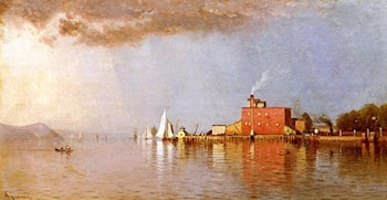 Along the Hudson by Alfred Thompson Bricher