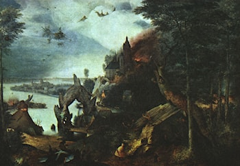 Landscape with the Temptation of Saint Anthony by Pieter the Elder Bruegel
