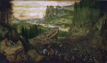 The Suicide of Saul by Pieter the Elder Bruegel