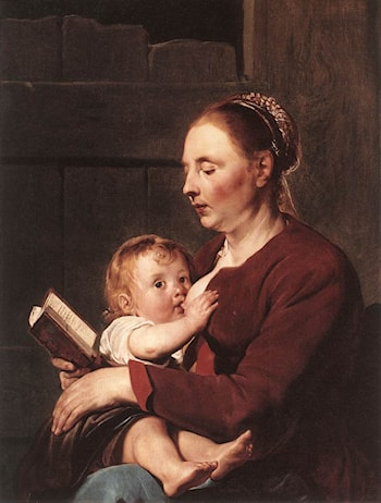 Mother and Child by Pieter de Grebber