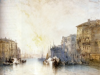 The Grand Canal, Venice by William Callow