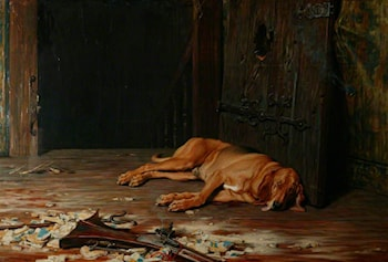 The Last of the Garrison by Briton Riviere