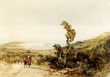 Sandown Bay, Isle Of Wight by Charles Bentley