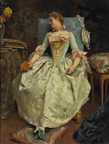 The Dream by Gustave Jean Jacquet