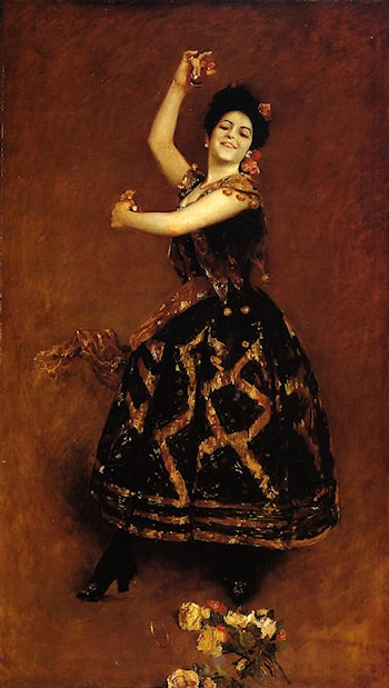 Carmencita by William Merritt Chase