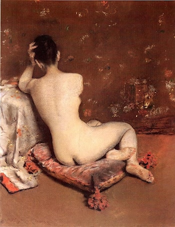 The Model by William Merritt Chase
