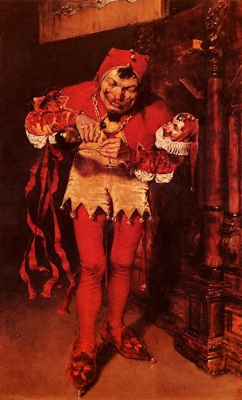 Keying Up ­ The Court Jester by William Merritt Chase