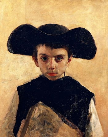 Little Priest by Antonio Mancini
