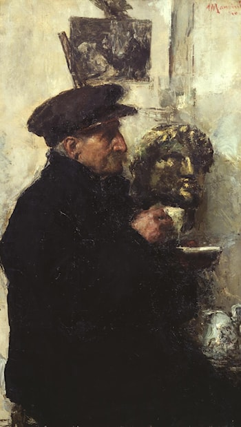 Portrait of the Artist's Father by Antonio Mancini