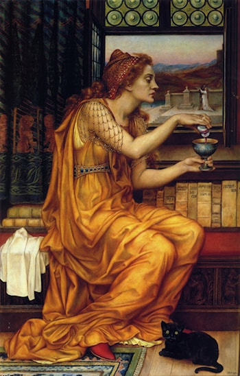 The Love Potion by Evelyn de Morgan