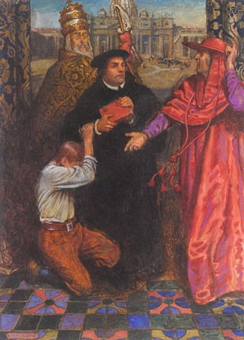 Ballad of Luther by John Byam Liston Shaw