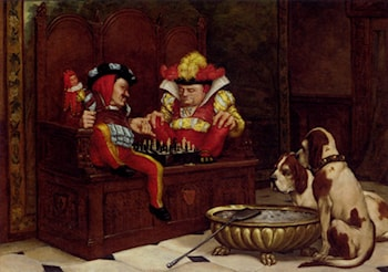 A Game For The Entertainers by Charles Louis Kratke
