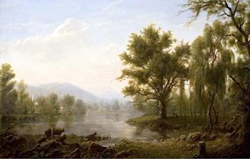 Along the Hudson by Erik Koeppel