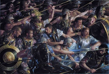 Faramir at Osgiliath by Donato Giancola
