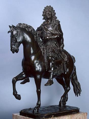 Model for an Equestrian Statue of Louis XIV by Francois Girardon