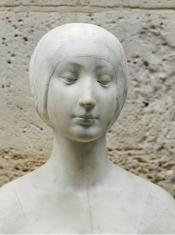Bust of a princess by Francesco Laurana