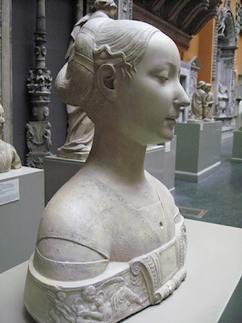 Bust of a Woman by Francesco Laurana