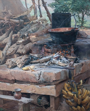 Wood Stove by Gilberto Geraldo