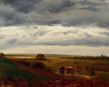 Normandy Landscape by Theodore Rousseau