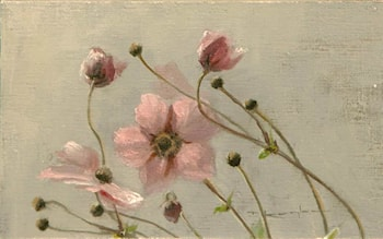 Japanese Anemones Proverbs 4:7 by Thomas Kegler