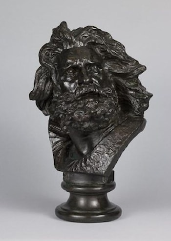 Head of Gaul by François Rude