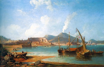 The Bay of Naples by James Wilson Carmichael