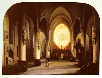 Interior of a Church by Jan-Baptiste Tetar van Elven