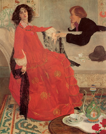 Faustine by Maxwell Armfield
