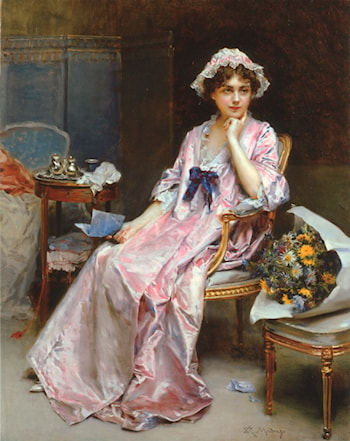 The Reluctant Mistress by Raimundo de Madrazo y Garreta