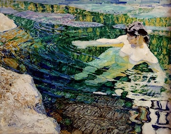 The Bather by Frantisek Kupka