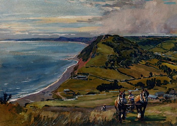 Along The Dorset Coast by Lionel Edwards